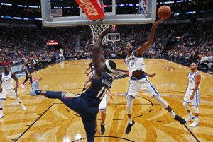 Golden State v druhom zápase nezaváhali, porazili New Orleans Pelicans.