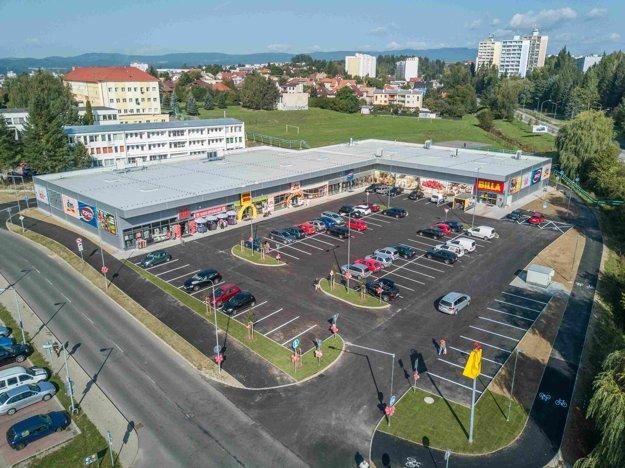 Nové obchodné centrum Zlatý potok