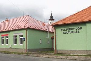 Nový kultúrny dom už odovzdali do užívania.