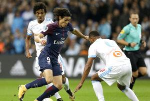 Futbalisti Marseille na vlastnom ihrisku remizovali s hráčmi Paríža St. Germain.