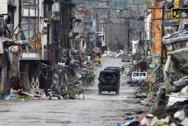 Filipíny hlásia koniec konfliktu s islamistami, mesto Marawi je oslobodené