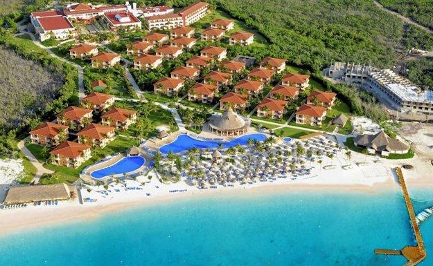 Hotely v Playa del Carmen ponúkajú špičkové all inclusive pobyty.