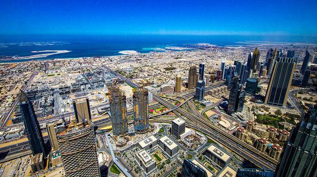 Luxusný a pokrokový Dubaj.