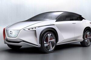 Nissan IMx - Autonómne elektrické crossovery momentálne vládnu svetu konceptov. Tento sa odlišuje možnosťou bezdrôtového nabíjania.