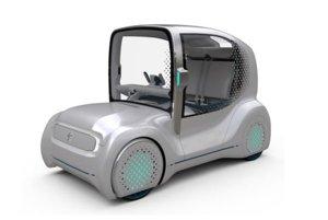 Toyota Auto Body Wonder-Capsule - Zvláštne dvojmiestne autíčko, ktoré sa nepodobá na nič, ćo sme videli. Dizajnová štúdia vznikla v spolupráci s módnou značkou Anrealage. Pozornosť púta veľké vertikálne čelné sklo, v interiéri sa nachádzajú zase fluorescentné prvky.