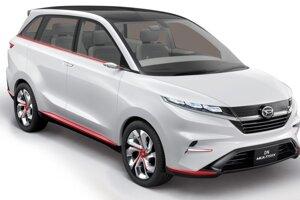 Daihatsu DN Multisix - Aj keď je toto SUV stále dosť kompaktné, ponúka sedenie pre šiestich ľudí. O pohon sa stará 1,5-litrový benzínový motor.