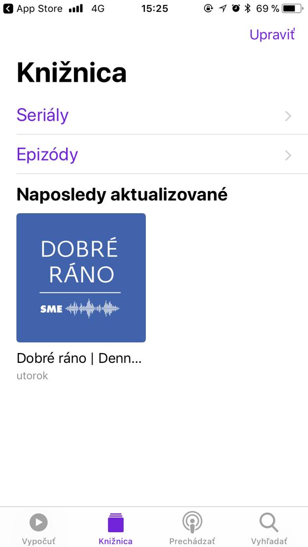 Knižnica podcastov.