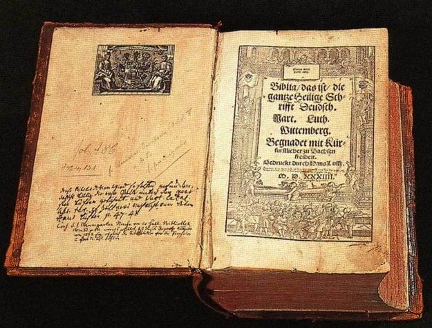 Lutherova Biblia.