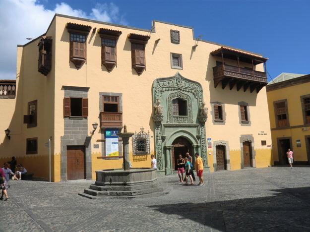 Budova múzea Casa de Colon