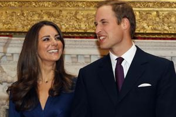Kate Middletonová a princ William sa zosobášia v apríli.