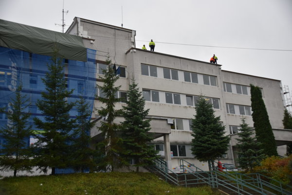 Budovu čadčianskej polície rekonštruujú.
