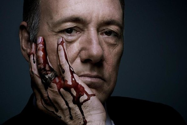 Kevin Spacey v House of Cards.