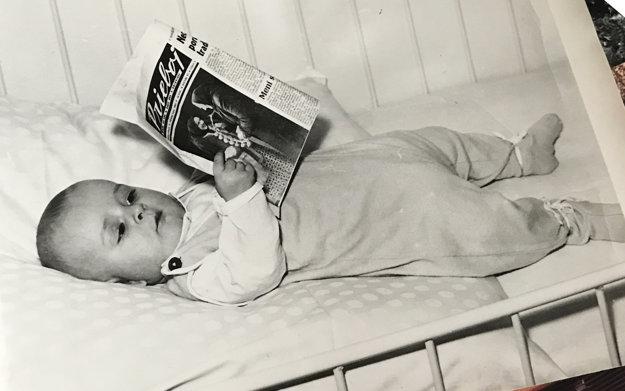 Odfotil najmladšieho čitateľa, ktorý má dnes 54 rokov.