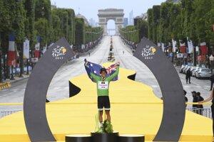 Michael Matthews tento rok prvýkrát v kariére získal zelený dres na Tour de France.