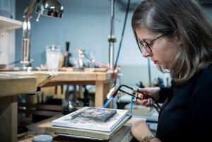 Žíhanie striebra je proces, vďaka ktorému sa dá s kovom pracovať.