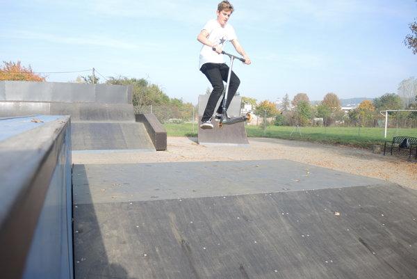Skatepark už funguje.