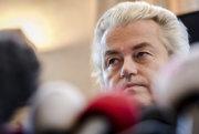 Holandský krajne pravicový líder Geert Wilders.