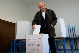 Jeden z favoritov volieb Ján Lunter má už voľby za sebou.