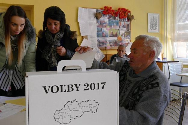Voľby v Terchovej.