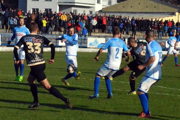 Spišiaci siahali proti Lokomotíve Košice na víťazstvo.