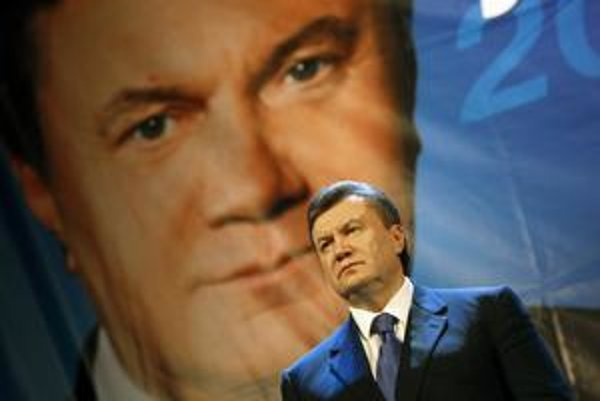 Viktor Janukovyč, budúci prezident Ukrajiny.