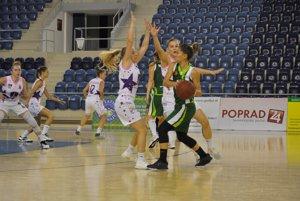 Basketbalistky BAM Poprad potešili fanúšikov.