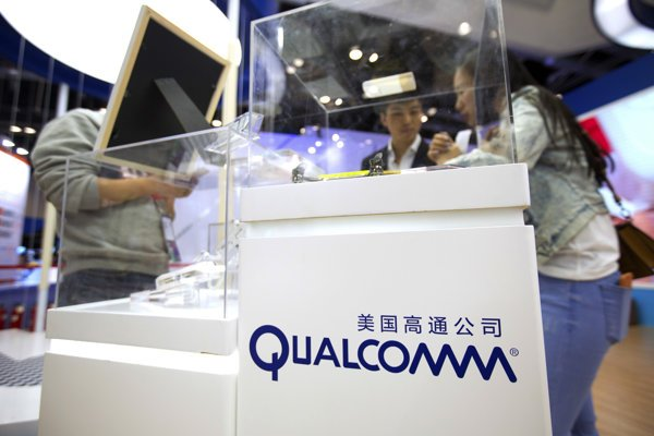 Logo Qualcomm.