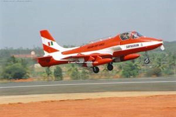 Kiran MK-II je cvičné prúdové lietadlo.