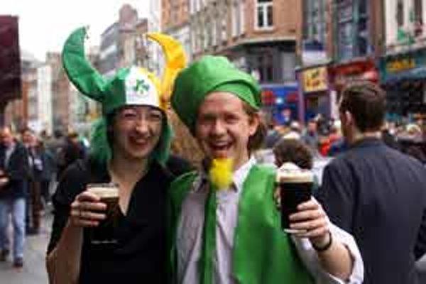 Štátny sviatok Írska - Deň sv. Patrika sa každoročne oslavuje 17. marca tradične aj s pivom Guinness.