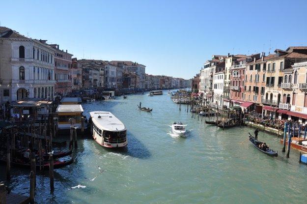 Grand Canale z mosta Rialto