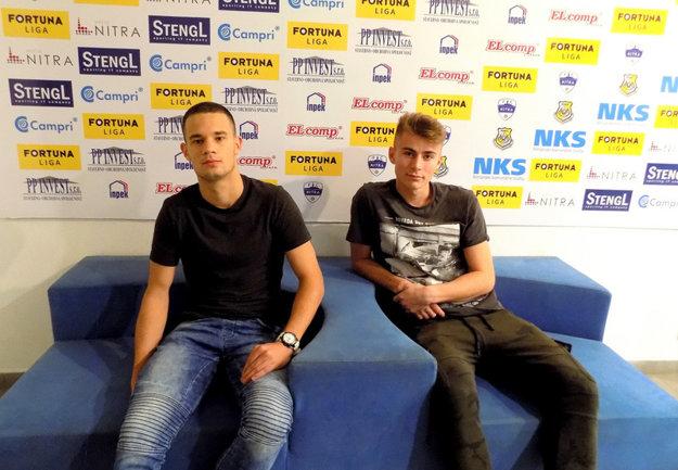 Stefan Višič (vľavo) a Gergö Kelemen.