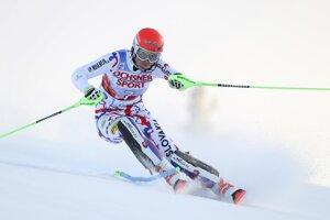 Petra Vlhová zašla v prvom kole vo fínskom Levi skvelo.