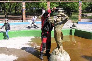 Vodník pribudol vo fontáne v roku 1999.