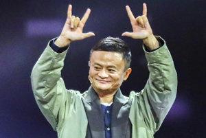 Vlastník najväčšieho čínskeho e-shopu Alibaba Jack Ma.