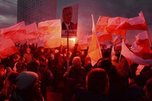 Pochod v Deň nezávislosti Poľska 11.11.