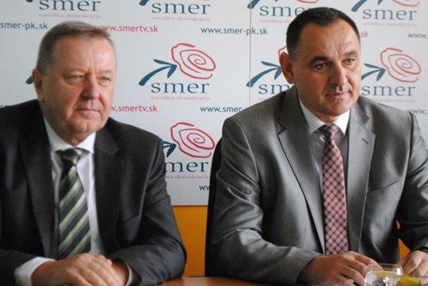 Stanislav Kubánek (vľavo) a Peter Chudík.