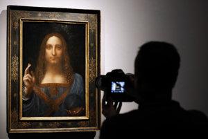 Dielo Salvator Mundi je pripisované talianskemu renesančnému umelcovi Leonardovi da Vincimu.