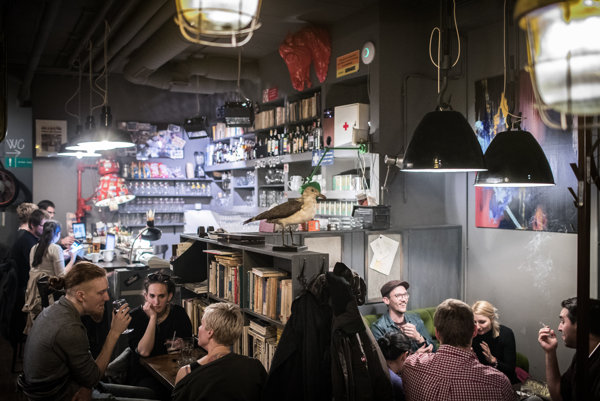 Bratislavská kaviareň.