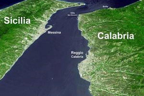 Most cez Messinskú úžinu by urýchlil prepravu z pevniny na Sicíliu, ktorá trajektom trvá aj pol hodiny.