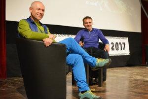 Peter Hámor (vľavo) bol súčasťou tohtoročných HoryZontov v Trenčíne.