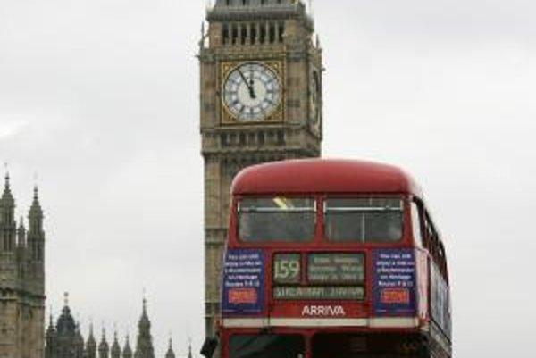Londýnska doprava – ako inak – jazdí sa vľavo.