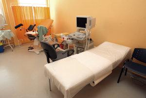 Vynovená gynekologická ambulancia
