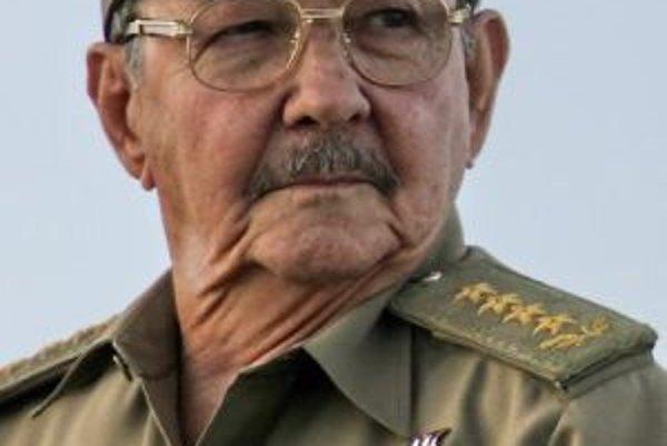 Nový kubánsky prezident Raúl Castro.