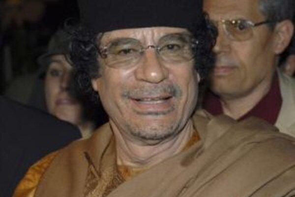 Zakladateľ líbyjskej džamahíríje Muammar Kaddáfí.