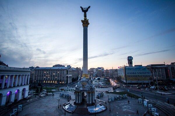 Majdan v Kyjeve.