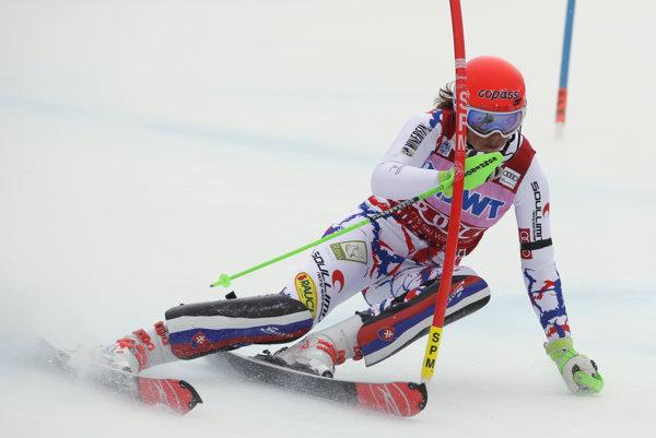 Petra Vlhová predviedla skvelý výkon.