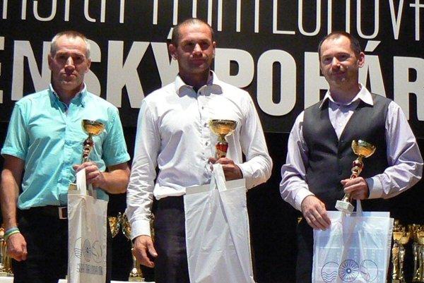 Peter Sitárik a Slavomír Praj boli najlepší v kategórii od 44 do 49 rokov.