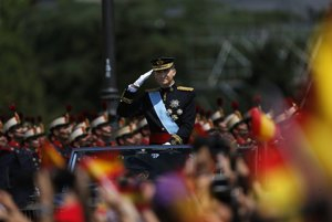 Španielsko má nového následníka trónuŠpanielsky kráľ.