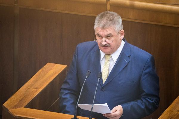 Minister práce, sociálnych vecí a rodiny SR Ján Richter.
