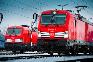 Na snímke Vectron vo farbách nákladnej železničnej spoločnosti DB Cargo Polska.